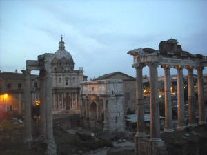 Rome, Italy whilst house sitting in Europe