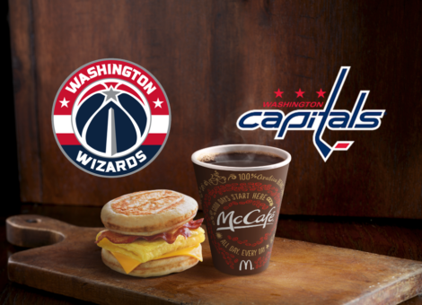 This year's Capitals and Wizards DC McDonald's deal is announced.
