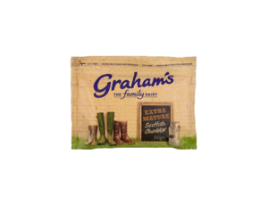 Grahams Extra Mature Cheddar Cheese PNG 2