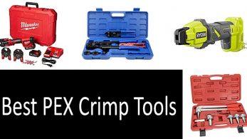 Best PEX Crimp Tools In 2021 – PEX Crimp Vs. Clamp Reviews