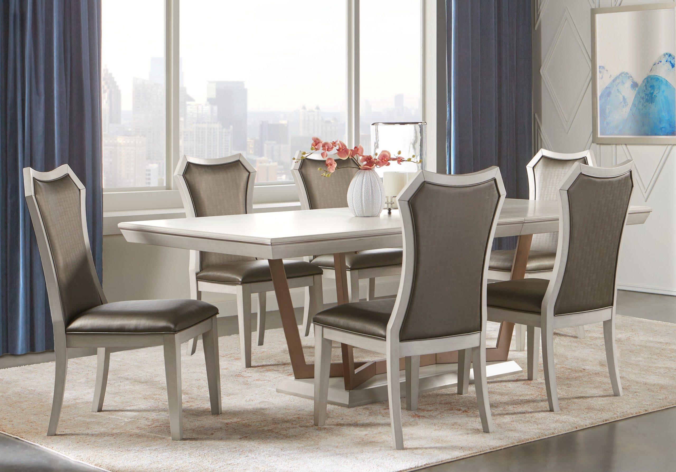 Sofia Vergara Cambrian Court-Brown 5 Pc Dining Room Set