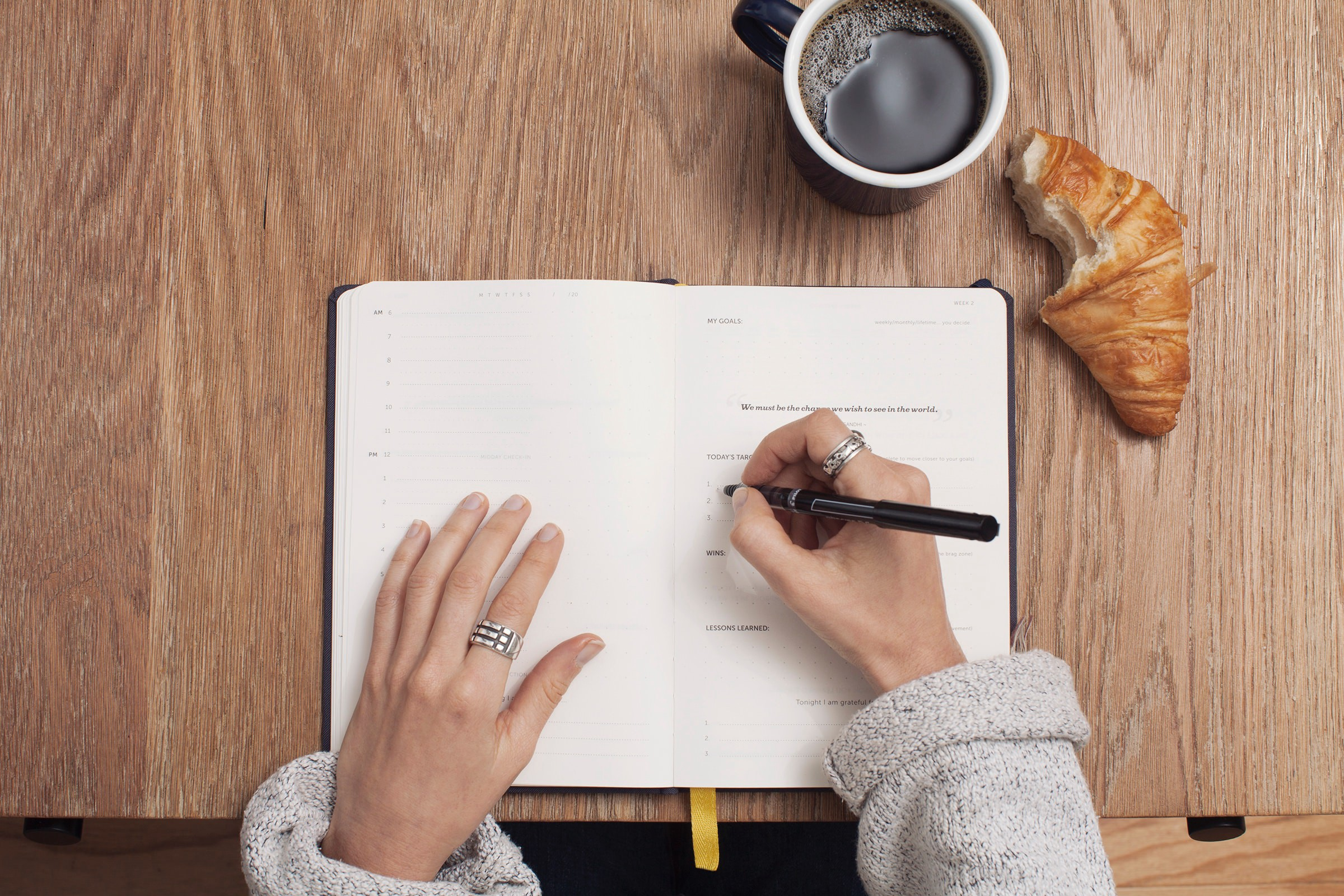 Start Filling in your Outline by Free Writing