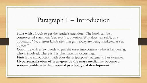 Start a Good Introduction