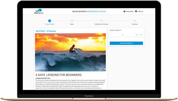 Surf the school's website
