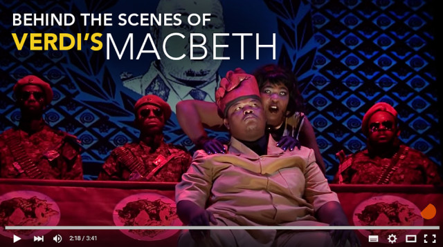 Verdi's Macbeth - Behind the Scenes